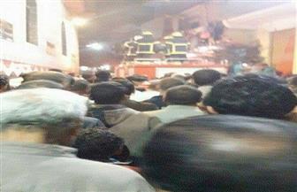 تشييع جنازة شهيد المنوفية بأحداث السطو المسلح على بنك في شمال سيناء