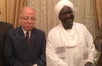وزير الثقافة السوداني خلال لقائه النمنم: القاهرة أسهمت في رفع الحصار عن الخرطوم | صور