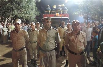 قرية سلامون بالمنوفية تودع شهيدها ضحية الهجوم على بنك بشمال سيناء | صور