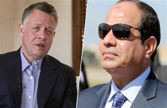 ننشر تفاصيل اتصال الرئيس السيسي بالعاهل الأردني
