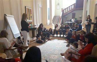 كيف تصبح مستثمرًا.. تعليم الأطفال كيفية إدارة الأعمال وبدء مشروع ناجح .. ورشة ببيت السفير الكندي|صور