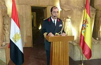 الملحق العسكري بإسبانيا يقيم حفلًا بمناسبة ذكرى انتصارات أكتوبر