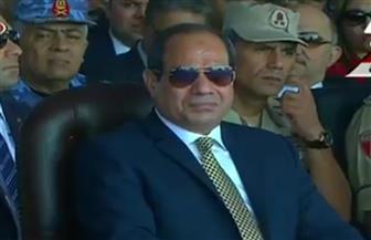 """الرئيس السيسي يدشن ميناء الإسكندرية العسكري بعد تطويره في """"عيد البحرية الخمسين"""""""