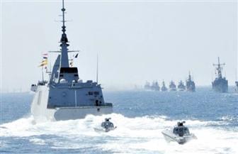"""القوات المسلحة: """"البحرية"""" تؤمن حقل ظهر والأهداف الحيوية في عمق المياه المصرية"""