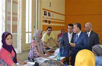 وزير التعليم العالي في جامعة الإسكندرية.. و1000 متر مساحة لمبنى المكتبة المركزية|صور