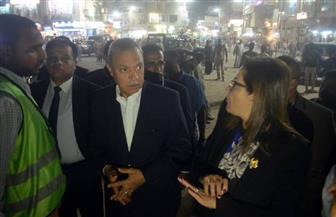 وزيرة التخطيط  تتفقد إنشاءات كوبري قوص في قنا  صور