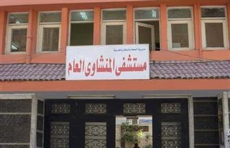 """كردون أمنى حول مستشفى المنشاوى العام بطنطا المتحفظ به على جثمان """"شاب القطار"""""""