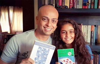 """ابنة أحمد مراد تشاركه تقديم برنامجه بـ""""ريفيوهات"""" كتب الأطفال"""