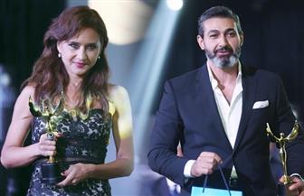"""في مهرجان """"القنوات الفضائية"""".. ياسر جلال ونيللي كريم أفضل ممثل وممثلة"""