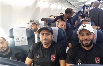 لاعبو الأهلي في طريقهم للقاهرة عقب الخسارة أمام النجم الساحلي | صور