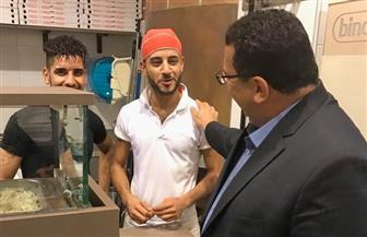 """سعفان"""" زيارات ميدانية للعمالة المصرية بإيطاليا لتوعيتهم بحقوقهم وواجباتهم"""