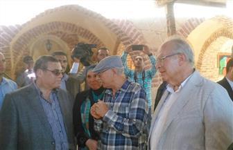 وزير التنمية المحلية يفتتح المهرجان الدولي السابع للخزف والفخار بالفيوم| صور