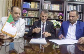 نقابة السينمائيين توقع بروتوكول تعاون مع المرصد الجزائري للفنان|  صور