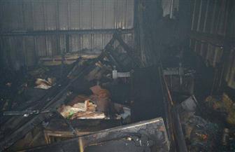 السيطرة-على-حريق-بمنفذ-سلع-مواد-غذائية-بكلية-آداب-طنطا-|-صور