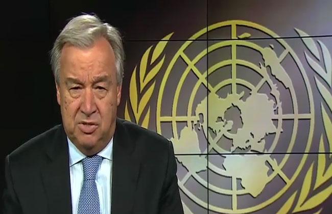 الأمين العام للأمم المتحدة يدعو الصين والولايات المتحدة إلى الحوار والتفاهم