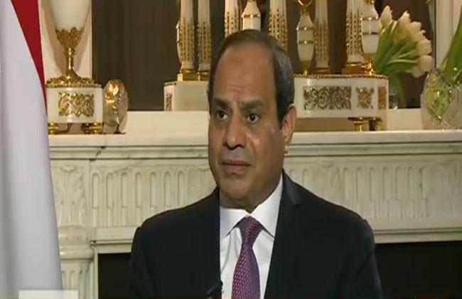 الرئيس السيسي لا يوجد معتقلون سياسيون في مصر والمصالحة الفلسطينية هدفها تهيئة المناخ لإقامة الدولة |فيديو
