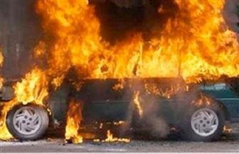 إخماد حريق بسيارة ملاكي دون إصابات أو وفيات بالفيوم