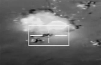 القوات الجوية تحبط محاولة لاختراق الحدود الغربية.. وتدمير 8 سيارات دفع رباعي محملة بالأسلحة
