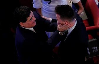 مارادونا: تأثرت كثيرا لتسليم جائزة الفيفا لرونالدو وليس ميسي