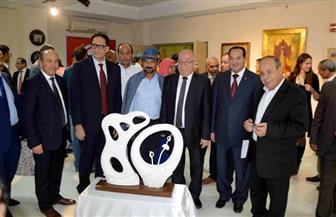 وزيرا الثقافة المصري والتونسي يفتتحان معرضًا للفن التشكيلي بالأقصر| صور