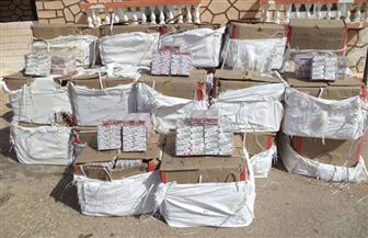 المتحدث العسكري: قوات حرس الحدود تضبط 4 سيارات محملة بـ3 ملايين قرص مخدر | صور