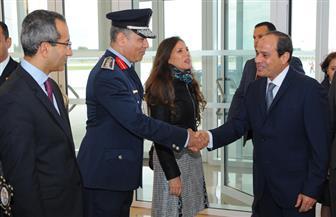 الجالية المصرية بفرنسا تنظم وقفة للترحيب بالرئيس السيسي في باريس