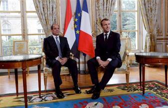 الرئيسان السيسي وماكرون يعقدان مؤتمرًا صحفيًا ويشهدان توقيع 17 اتفاقية بين مصر وفرنسا.. بعد قليل