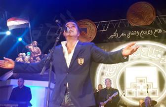 مدحت  صالح وعمرو سليم على المسرح الكبير والحجار بأوبرا الإسكندرية