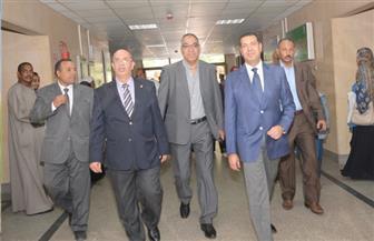 محافظ أسيوط يفتتح عددًا من الوحدات الطبية بمعهد جنوب مصر للأورام | فيديو