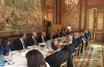 """قابيل يستعرض مع أعضاء"""" أرباب الأعمال"""" الفرنسي خطة تنفيذ الإصلاح الاقتصادي"""