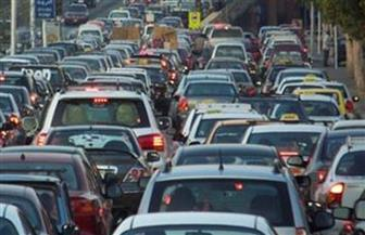 تعرف على الحالة المرورية المسائية بمحاور القاهرة والجيزة