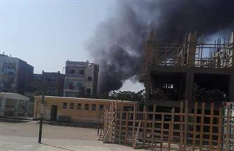 بدء ترميم العقارات المتضررة من حريق مصنع الإسكندرية