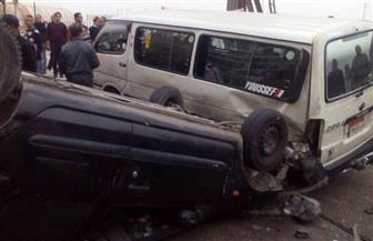مصرع خمسة وإصابة اثنين في حادثي تصادم على الطريق الساحلي الدولي بمطروح