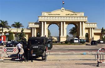 إجراءات أمنية مشددة بمحيط ملعب برج العرب قبل ساعات من لقاء السوبر