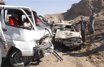 إصابة موظف وسائق في حادث تصادم بمكز إطسا في الفيوم