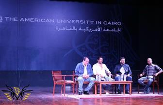 """أحمد الشامي في """"الحب الحرام """" بعد تكريم الجامعة الأمريكية"""