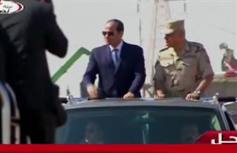 تفاصيل تفتيش الحرب لإحدى تشكيلات الجيش الثالث الميداني بحضور الرئيس السيسي