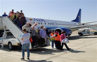 تدفق الحركة السياحية على مطار مرسي علم في 2018