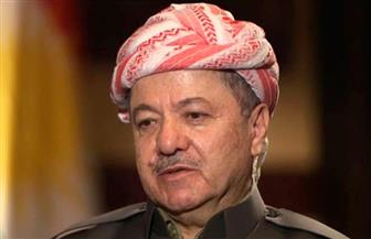 برزاني يخطر برلمان كردستان بتنحيه عن رئاسة الإقليم أول نوفمبر