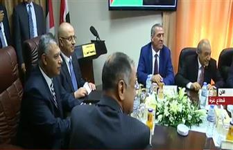 """رئيس المخابرات العامة المصرية يصل غزة ويشارك في اجتماع """"حكومة الوفاق"""""""