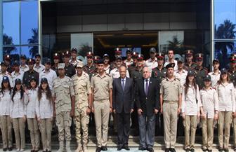 وفد من المُرشحين للعمل بوزارة الخارجية وهيئة الرقابة الإدارية يزور الهيئة العربية للتصنيع