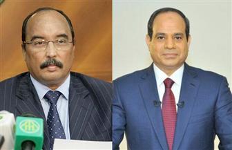 رسالة خطية من الرئيس السيسي لنظيره الموريتاني