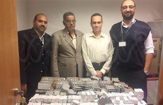 إحباط تهريب 21 ألف قرص أدوية قلب بحوزة مصري قادم من تركيا في مطار الغردقة