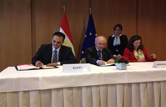 """توقيع اتفاقية """"الشراكة من أجل البحوث والابتكار"""" بين مصر والاتحاد الأوروبي   صور"""