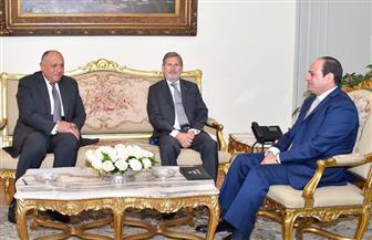 الرئيس السيسي يؤكد الأهمية التي توليها مصر لعلاقتها مع الاتحاد الأوروبي