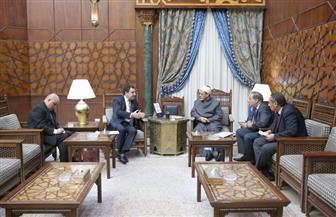 سفير أذربيجان بالقاهرة: حريصون على تعزيز التعاون العلمي والتعليمي مع الأزهر   صور