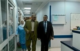 رئيس هيئة السكة الحديد يفاجئ المركز الطبي لسكك حديد مصر|صور