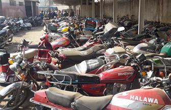 ضبط 2803 دراجات نارية مخالفة خلال أسبوع