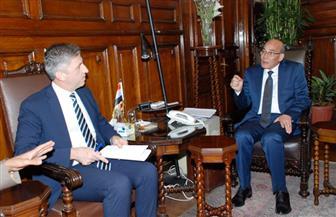 وزير الزراعة يبحث مع سفير قبرص بالقاهرة سبل التعاون بين البلدين | صور