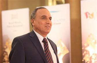 عبدالمحسن سلامة يستقبل كبار الشخصيات العامة والفنية بحفل الأهرام للدراما